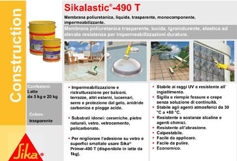 Sica edilizia specializzata - Prodotto impermeabilizzante per terrazzi ...